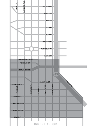 Map of Downtown | City Center